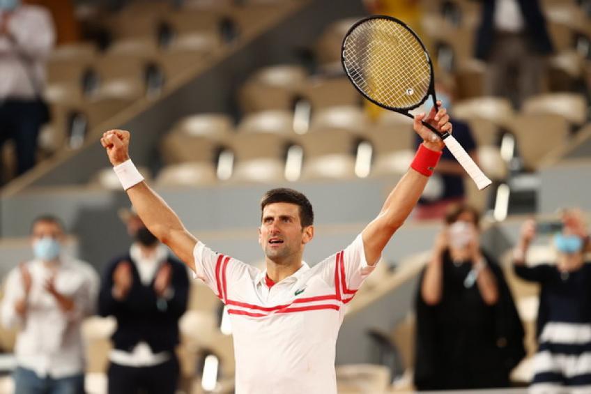 """""""Novak Djokovic no estaba contento de ver a Roger Federer, Rafael Nadal en su mitad"""", dice."""