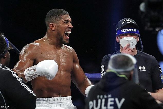 Anthony Joshua dice que pelearía contra Tyson Fury incluso sin cinturones en la línea