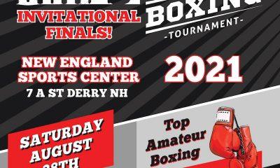 "La final del campeonato inaugural del ""Granite Chin Invitational"" programada para el 28 de agosto"