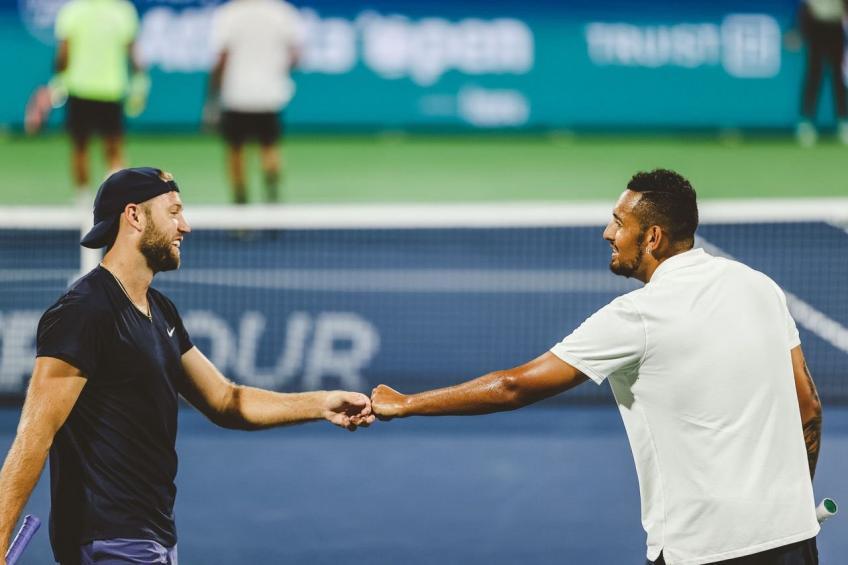 ATP Atlanta: Nick Kyrgios y Jack Sock derrotan al No. 3 en el primer partido de dobles