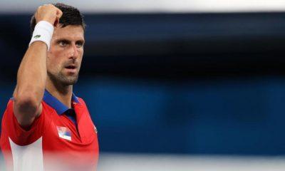 Novak Djokovic se asociará con Nina Stojanovic para dobles mixtos en los Juegos Olímpicos de Tokio