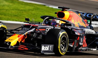 Max Verstappen (NLD) Red Bull Racing RB16B.  17.07.2021.  Campeonato del Mundo de Fórmula 1, Rd 10, Gran Premio de Gran Bretaña, Silverstone
