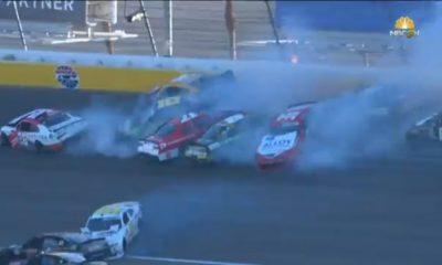 2021 NASCAR Xfinity Series Las Vegas Big Crash