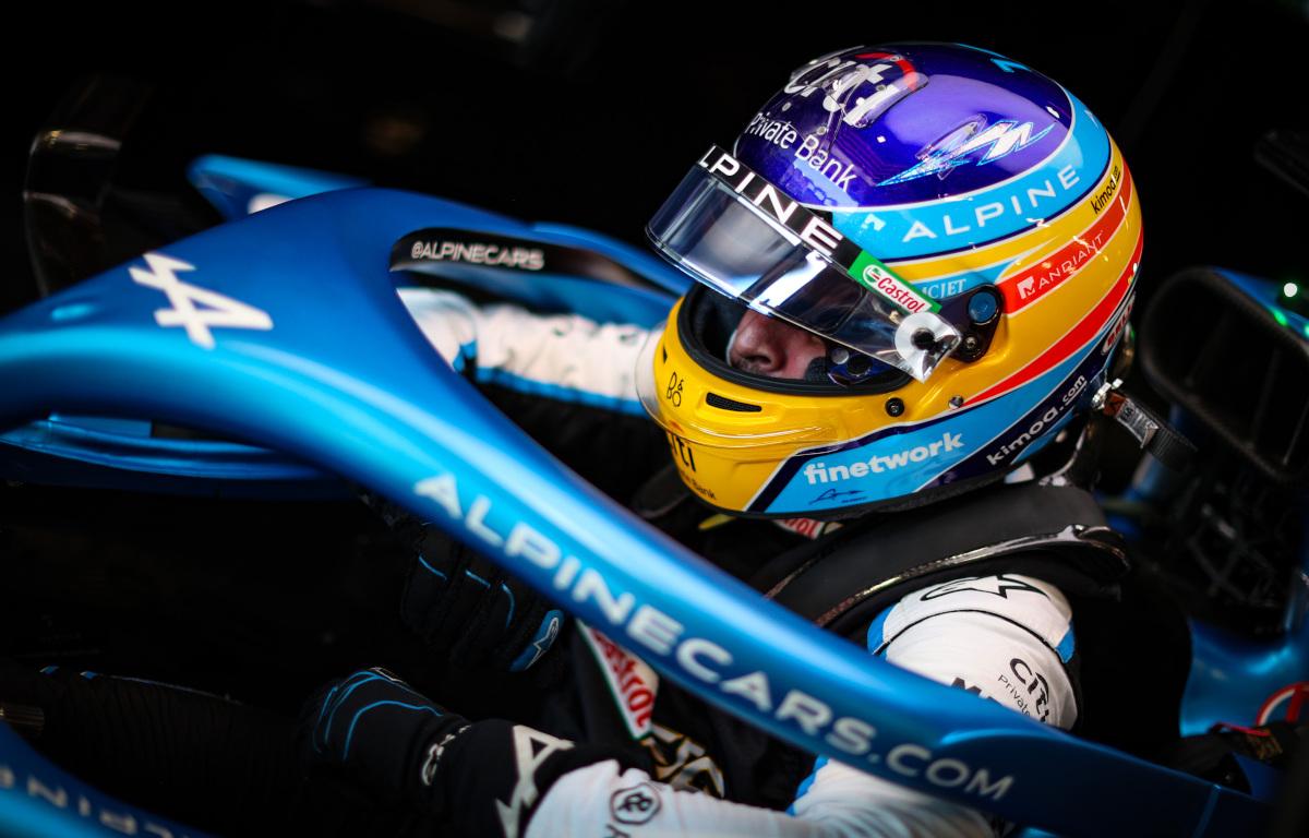 Alonso: Alpine es el 'mejor centrocampista' pero no el 'más rápido'