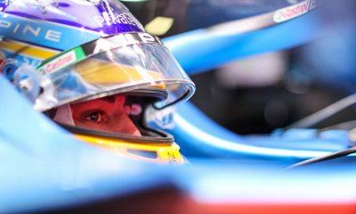 Fernando Alonso (ESP) Alpine F1 Team A521.  25.09.2021.  Campeonato del Mundo de Fórmula 1, Ronda 15, Gran Premio de Rusia, Autódromo de Sochi, Sochi