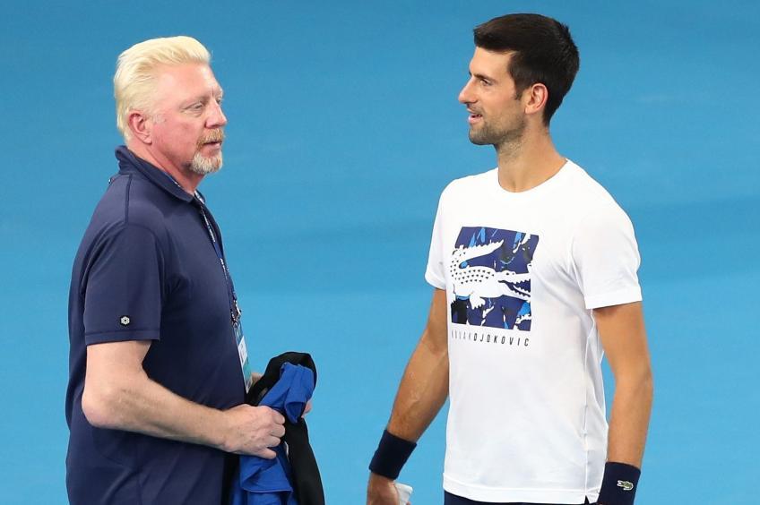 Boris Becker sobre la derrota de Novak Djokovic en el US Open