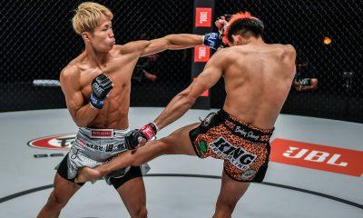 Imágenes de la pelea entre Taiki Naito y Petchdam en ONE: REVOLUTION