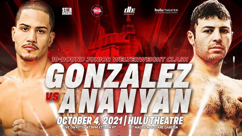 Danny González emocionado de ser parte de la cartelera López vs.Kambosos