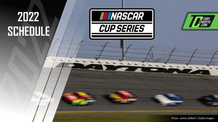 Calendario de la Copa NASCAR 2022