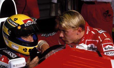 El día en que el novato Hakkinen enfureció a Senna