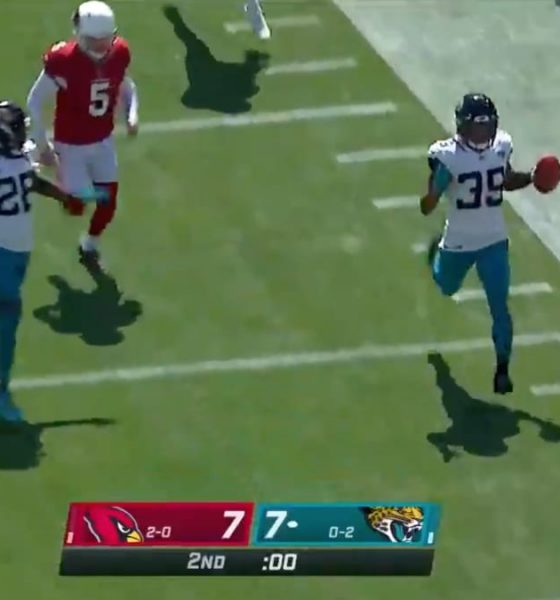 Jaguars patea seis TD: Cardenales permiten anotar en un tiro de campo fallado de 68 yardas