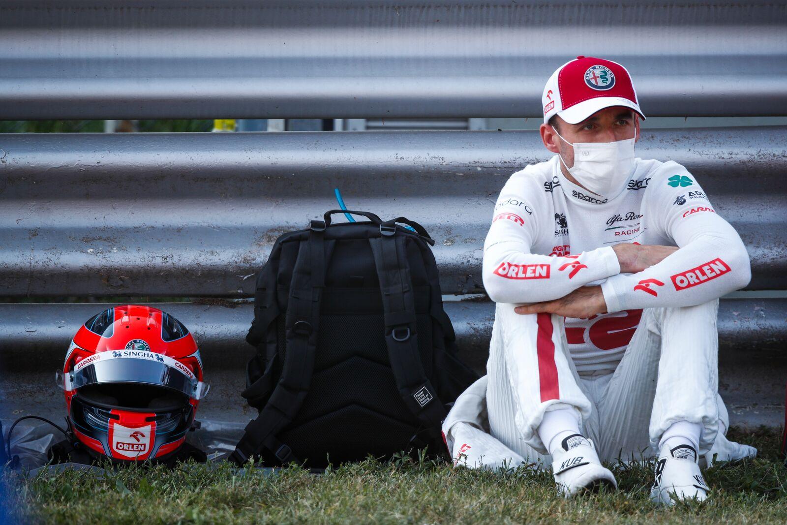 Kubica vio más banderas polacas que italianas en Monza