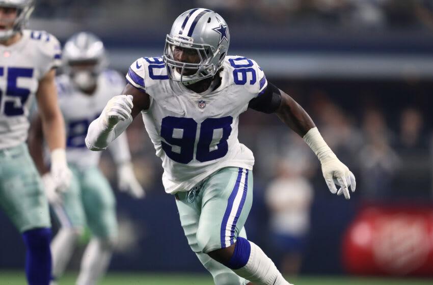 El ala defensiva de los Dallas Cowboys, DeMarcus Lawrence.  (Matthew Emmons-USA TODAY Sports)