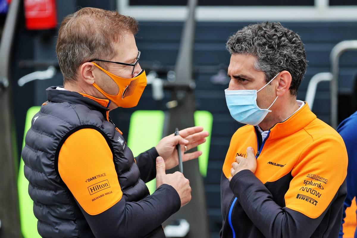 McLaren todavía tiene 'déficits en todas las áreas', dice Seidl