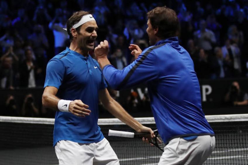 Tío Toni: Nadal, Federer dio un suspiro de alivio después de que Djokovic perdiera la final del US Open