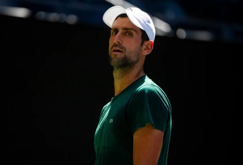 'Novak Djokovic golpea el balón más limpio, no es tan alto ...', dice el as de la ATP