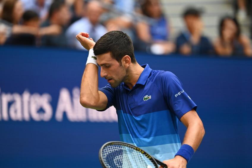 Boris Becker: nunca había visto a Novak Djokovic tan despistado