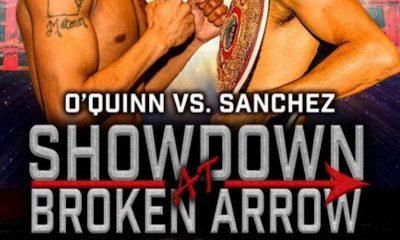 Resultados de la cartelera de Sánchez vs O'Quinn de Broken Arrow