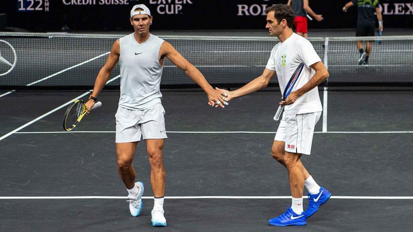 'Roger Federer y Rafael Nadal ahora deberían sentirse un poco ...', dice el mejor entrenador