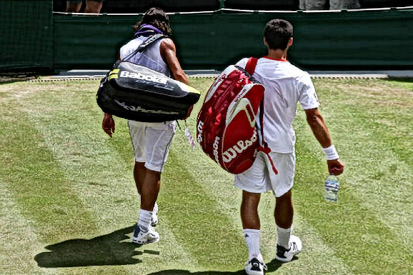 Novak Djokovic recuerda: 'Traté de evitar la mirada de Rafael Nadal, porque estaba demasiado débil'