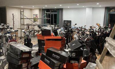 21.281 palos, componentes y prendas de vestir falsificados incautados en redadas en China
