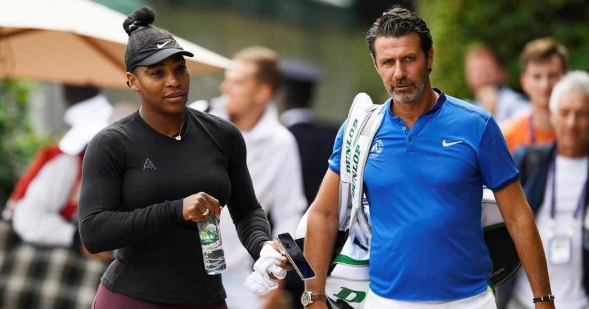 Patrick Mouratoglou: Serena Williams carecía de confianza cuando empezamos a trabajar