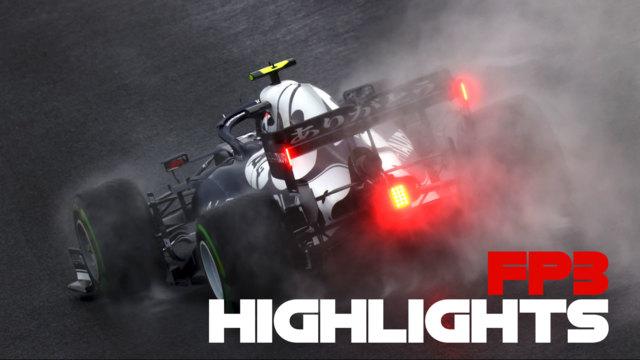 ASPECTOS DESTACADOS DE LA FP3: Revive la acción de la última práctica en mojado del Gran Premio de Turquía de 2021