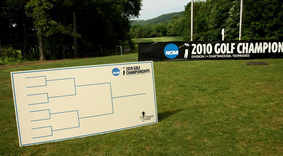 Abogando por los eventos estilo Ryder Cup entre rivales de golf universitarios