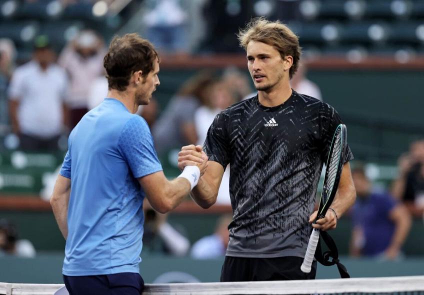 Andy Murray, Alexander Zverev 'todo bien' con las reglas previstas del Abierto de Australia