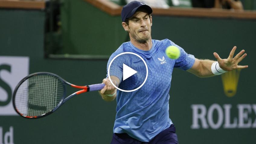 Indian Wells 2021: Andy Murray vs DESTACADOS de Mannarino