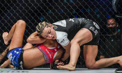 Imágenes de la pelea entre Itsuki Hirata y Alyse Anderson en ONE: EMPOWER