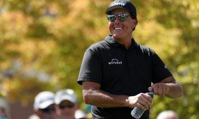 Antes de defender su título de campeones del PGA Tour, Phil Mickelson dice que la precisión en la conducción es irrelevante: 'Yo miro más largo'