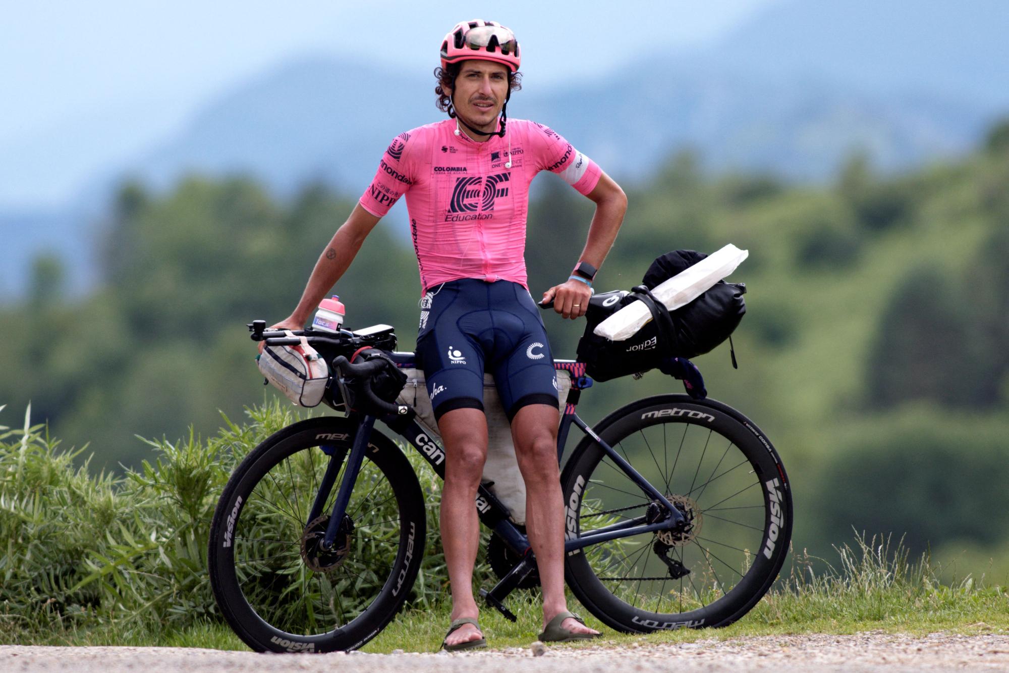 Así es como puedes ganar la bicicleta del Tour de Francia en solitario de Lachlan Morton