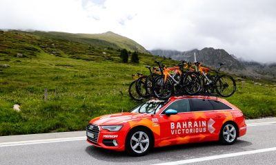 Bahréin Victorious responde después de que los investigadores revelaran que los ciclistas de la 'carrera de tres semanas en Francia' tenían relajantes musculares en sus sistemas