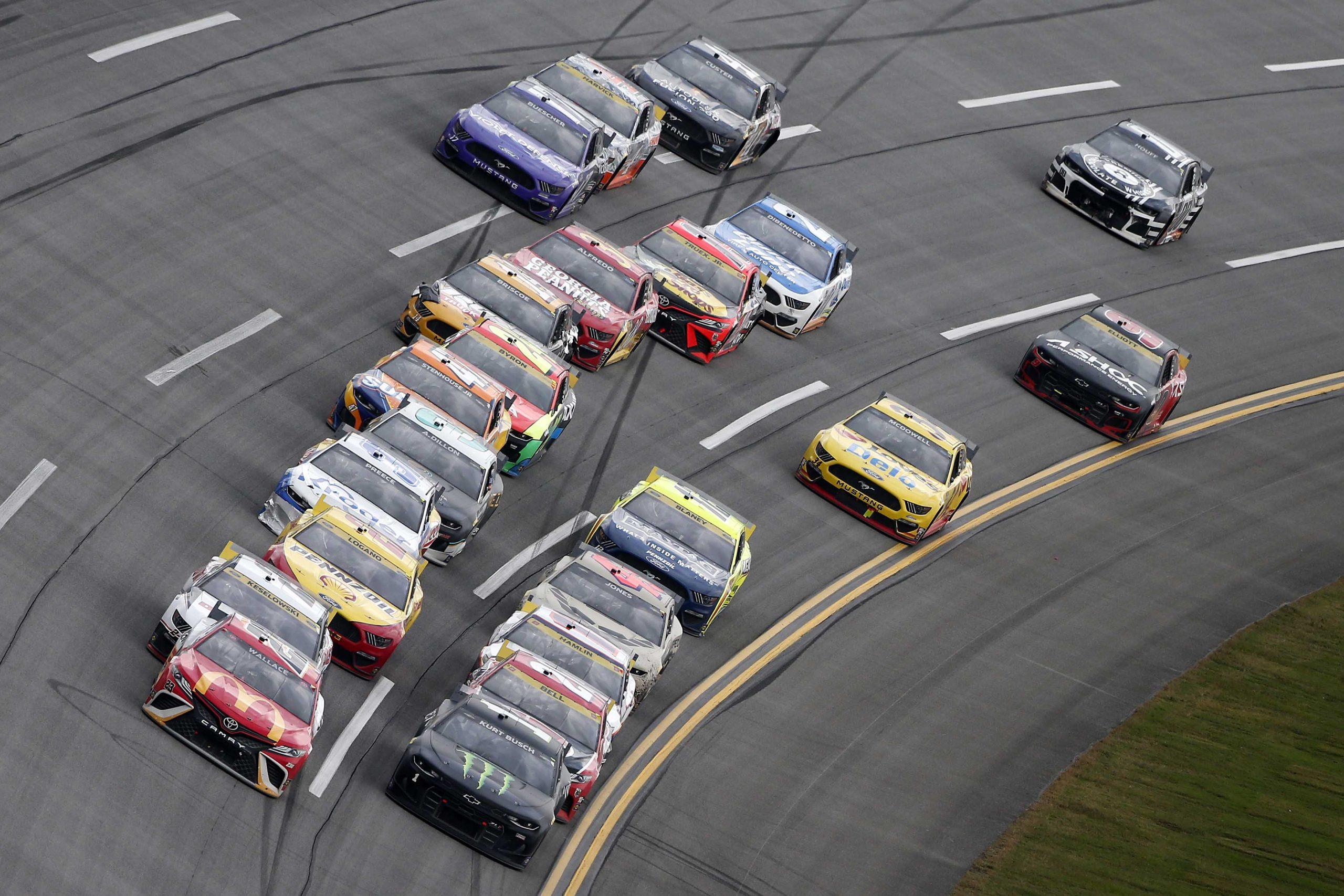 Calificaciones de Talladega TV: octubre de 2021 (NASCAR Playoffs)