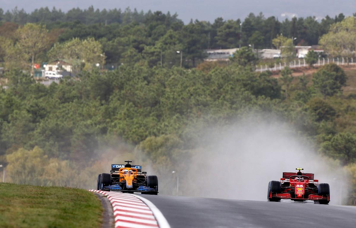 Carlos Sainz apuntó intencionalmente a la salida de Daniel Ricciardo Q1 en el Gran Premio de Turquía