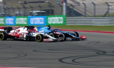 'Casi me estrello' - Alonso sobre por qué se retiró en Austin, y ESA batalla con Raikkonen