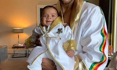 Chris Eubank Jr rindió homenaje a su difunto hermano Sebastián con una foto con su sobrino bebé