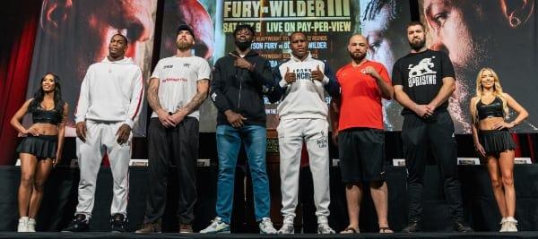 Conferencia de prensa de la cartelera 10.07.21 10 09 2021 Presser Ryan Hafey Premier Boxing Champions