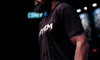 Corey Anderson derrota.  Ryan Bader en Bellator 268: mejores fotos