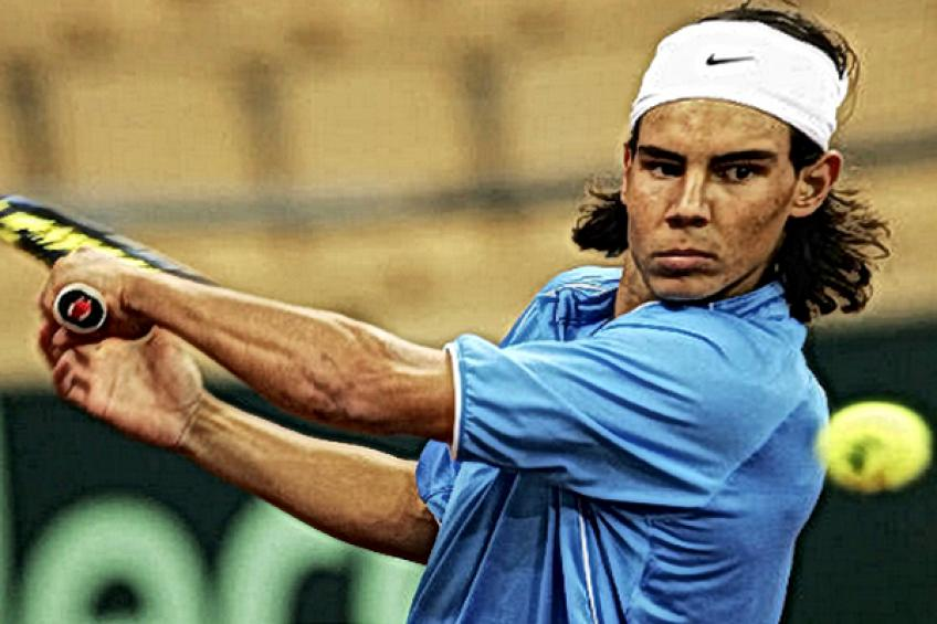 Cuando Rafael Nadal, de 18 años, se sintió listo para desafiar al no.  2 Andy Roddick