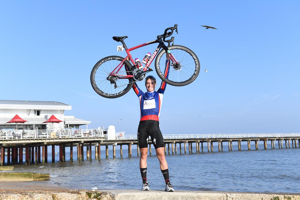 Demi Vollering gana el Women's Tour GC y Balsamo logra su primera victoria como campeona del mundo