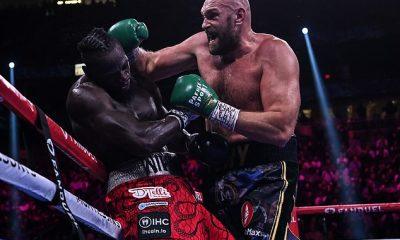 La falta de movimiento de la cabeza y acondicionamiento le costó a Deontay Wilder (izquierda) contra Tyson Fury, según Saúl 'Canelo' Álvarez