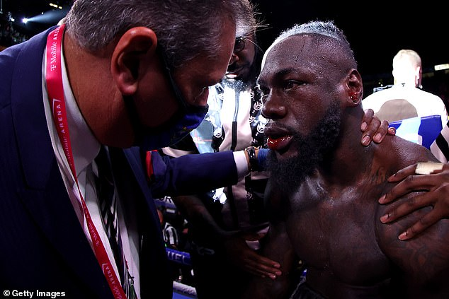 Deontay Wilder recibió una suspensión médica de seis meses después de su derrota ante Tyson Fury