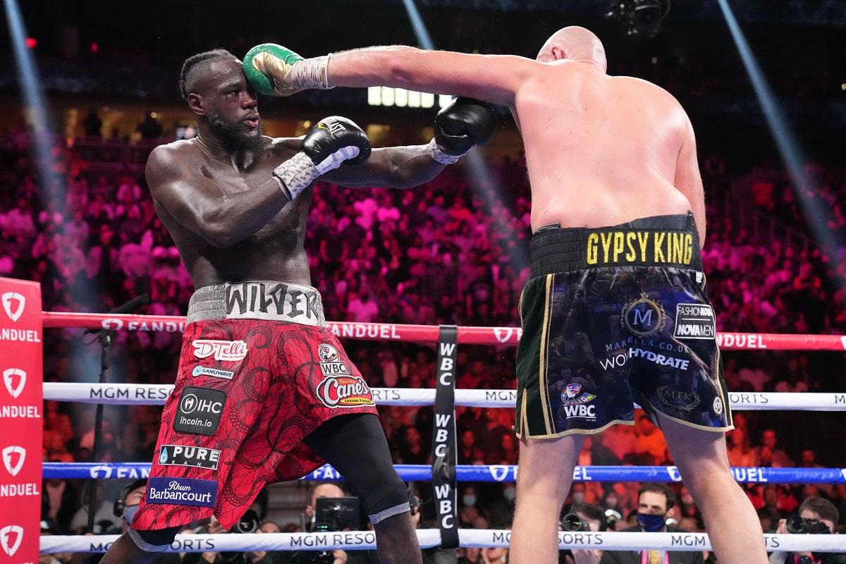 Deontay Wilder Tyson Fury pelea