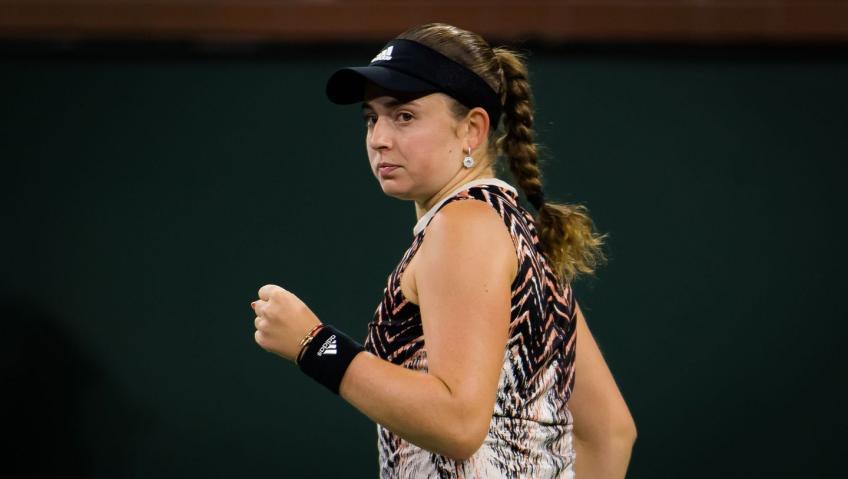 Jelena Ostapenko al llegar a Indian Wells SF: di un paso al frente y jugué como la mejor jugadora