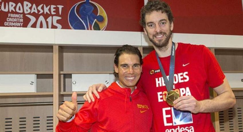Rafael Nadal sobre la retirada de Pau Gasol: día muy triste para el deporte español