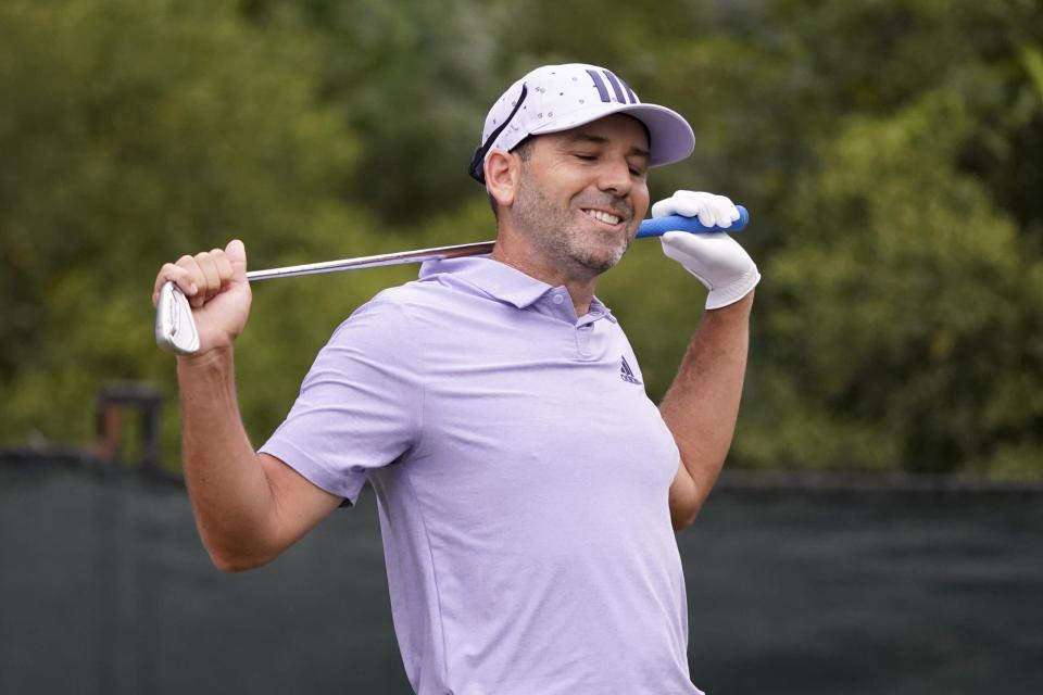 El campeón defensor Sergio García destaca a los jugadores del PGA Tour que fallaron el corte en el Sanderson Farms Championship