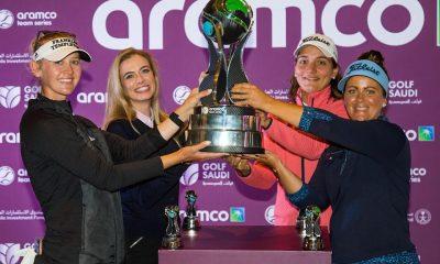 El equipo Jessica Korda prevalece bajo las luces en el evento Aramco Team Series en Nueva York