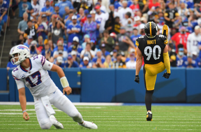 Pittsburgh Steelers, TJ Watt, Matt LeFleur Crédito obligatorio: Rich Barnes-USA TODAY Sports